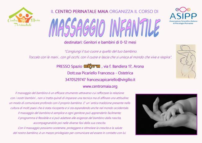 massaggio infantile fra